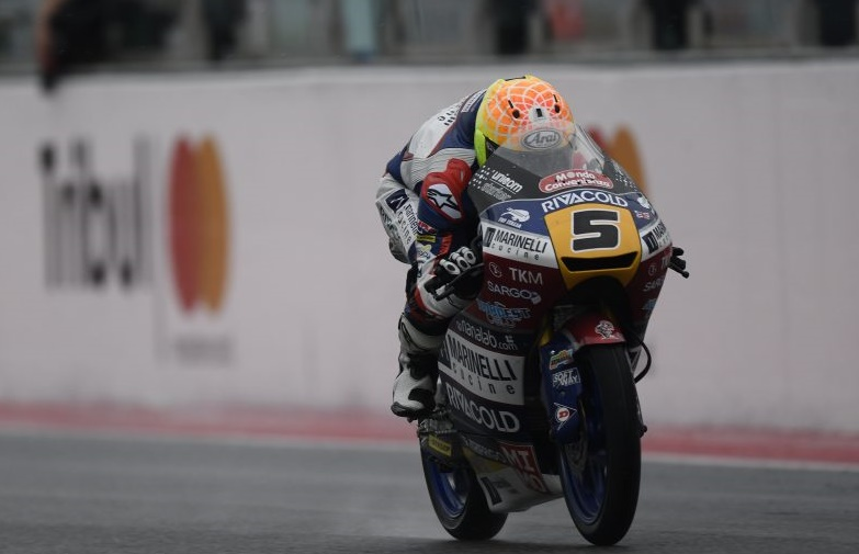 Moto3 Motegi FP2: Tripletta italiana, Fenati davanti ad Antonelli e Bulega