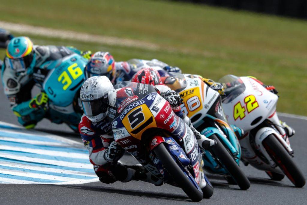 """Moto3 Phillip Island Gara: Fenati, """"La fortuna aiuta quelli bravi"""""""