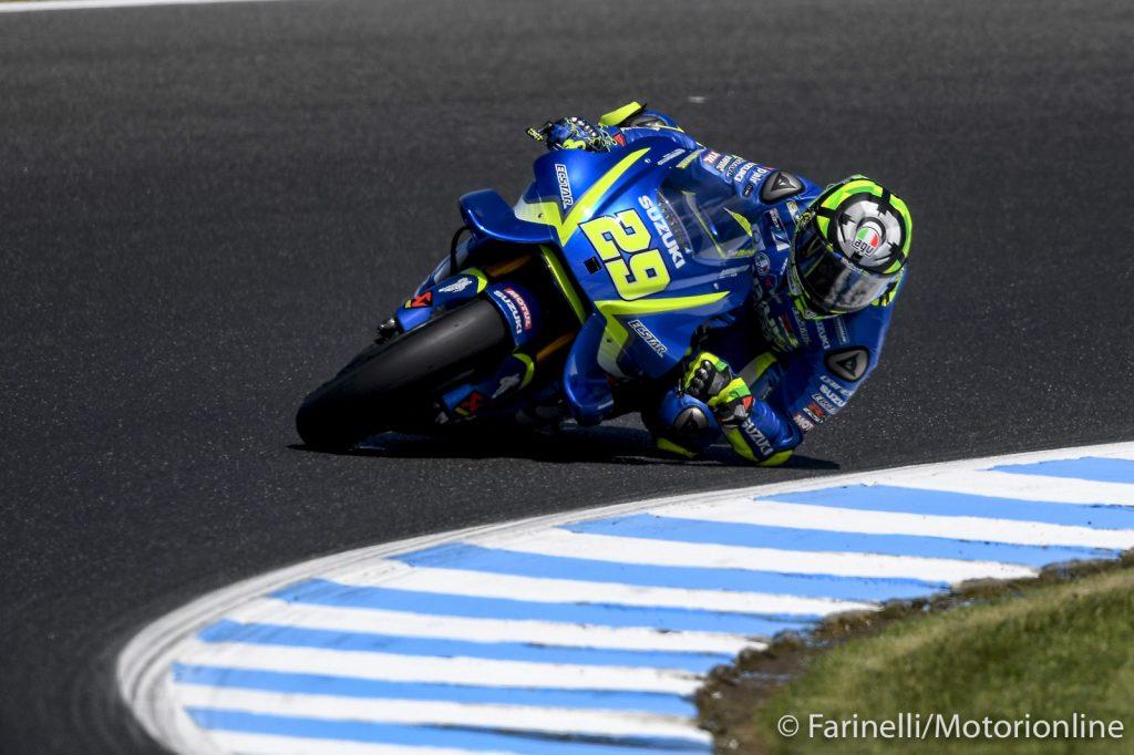 """MotoGP Phillip Island Day 1: Iannone, """"Qualche problema con la gomma anteriore"""""""