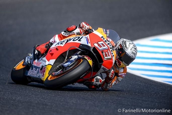 Motogp. In Australia vince Marquez, Dovizioso scivola a -33