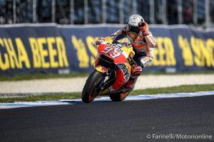 MotoGP Phillip Island Gara: Marquez vince e allunga in classifica, Rossi è secondo