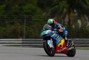 Moto2 Sepang Qualifiche: A Morbidelli la pole, brutta caduta per Luthi