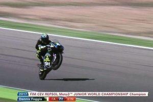 Moto3 CEV: Dennis Foggia è campione del mondo Junior