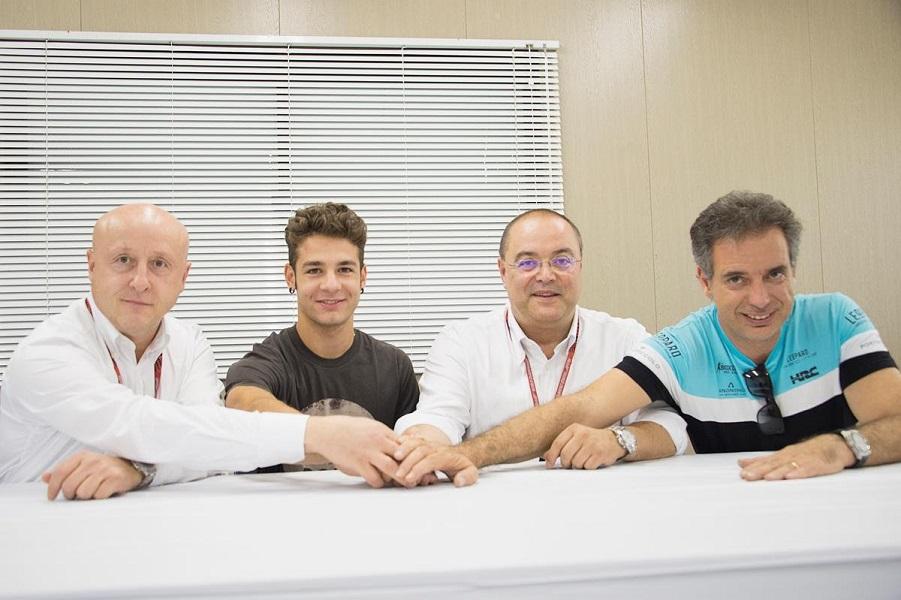 Moto3: Lorenzo Dalla Porta con Leopard nel 2018