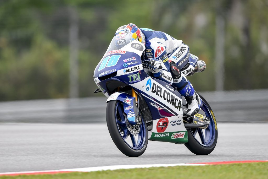 Moto3 Sepang FP3: Martin si aggiudica l'ultimo turno in condizioni miste