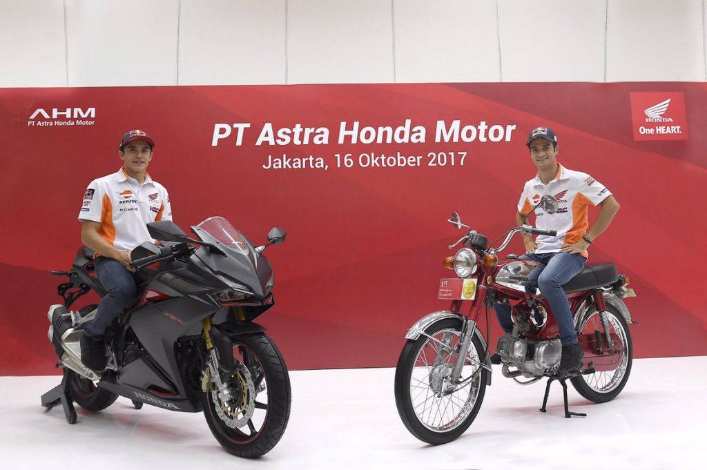 """MotoGP: Marquez e Pedrosa in visita in Indonesia per """"insegnare"""" la sicurezza"""