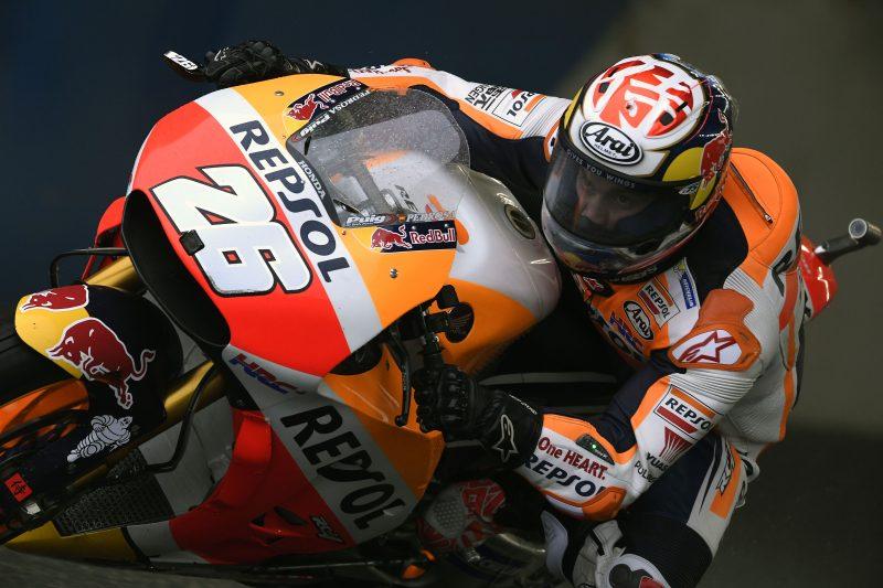 """MotoGP Motegi Day 1: Pedrosa, """"Ho lottato per mandare in temperatura i pneumatici"""""""