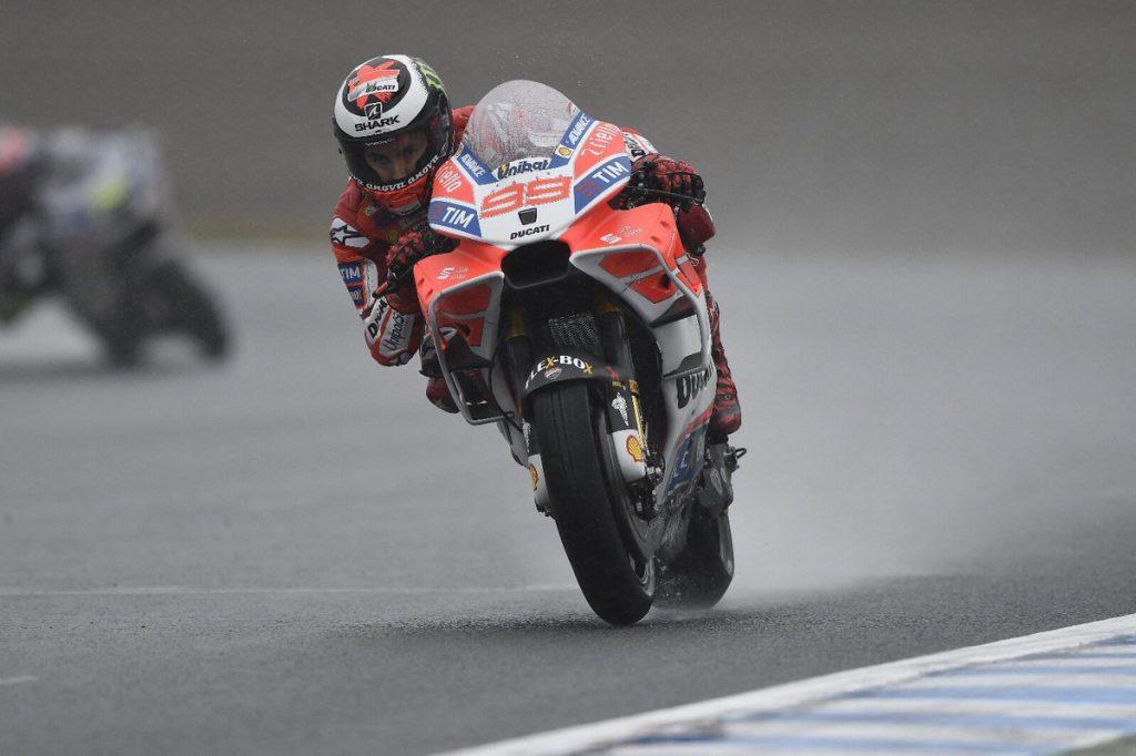 """MotoGP Motegi Day 1: Lorenzo, """"Oggi con Cal mi sarei potuto fare male, ma è venuto a chiedere scusa"""""""