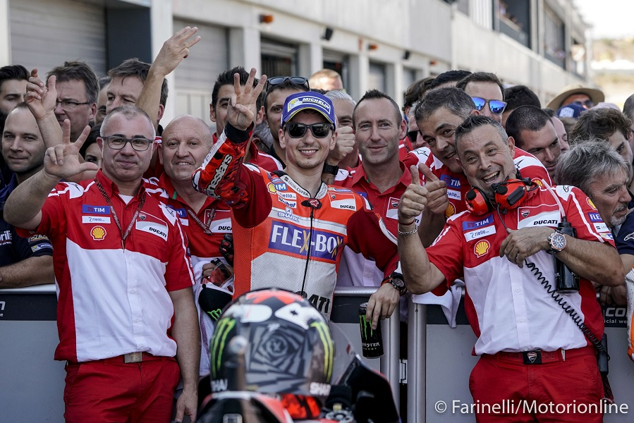 Storie di MotoGP. Motegi con Gabarrini (Ing. di pista di Lorenzo)