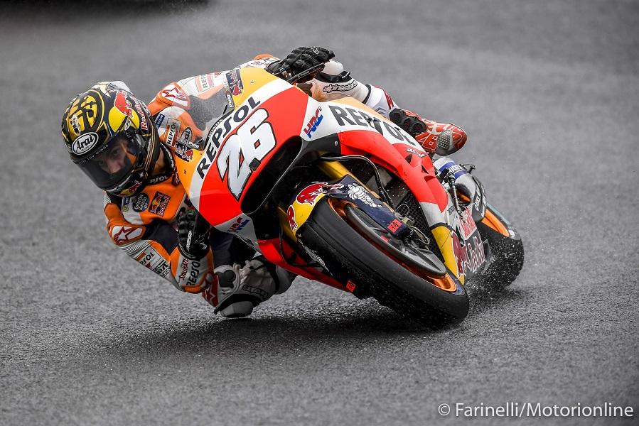 """MotoGP Motegi Gara: Pedrosa, """"La gomma posteriore era parzialmente rotta, studieremo con Michelin"""""""