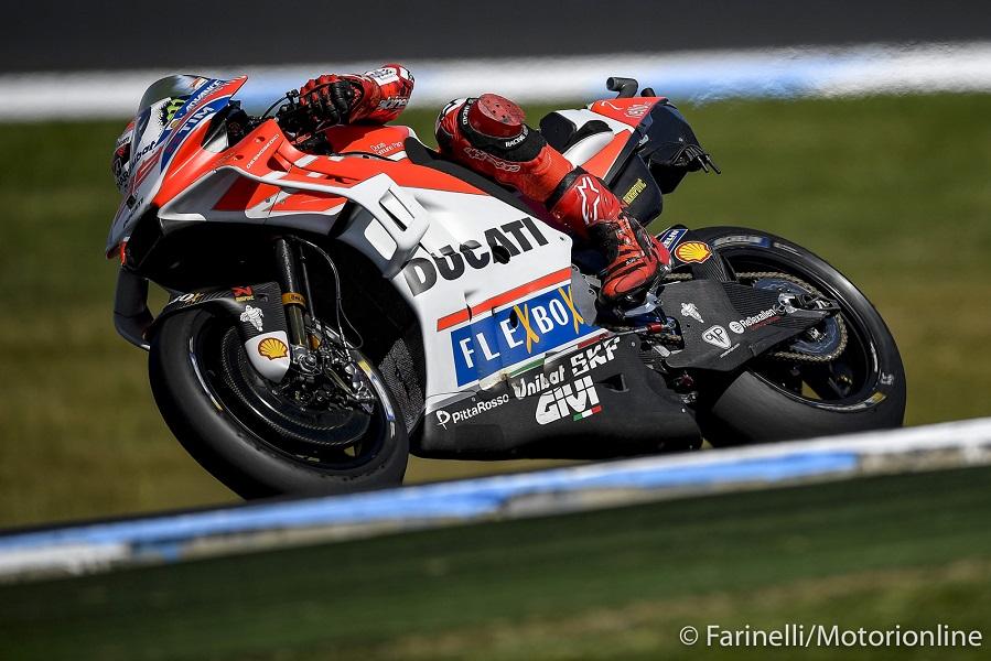 """MotoGP Phillip Island Qualifiche: Lorenzo, """"Ho pensato di essermi rotto qualcosa, domani sarà una gara dura"""""""