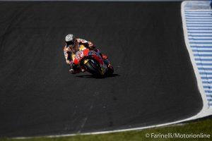 """MotoGP Phillip Island Qualifiche: Marquez, """"Il giro secco è buono ma anche il passo è ottimo"""""""