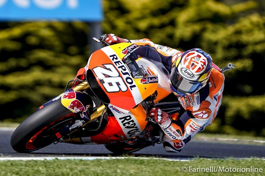 """MotoGP Phillip Island Qualifiche: Pedrosa, """"Mi manca il feeling, con la pioggia vado meglio"""""""