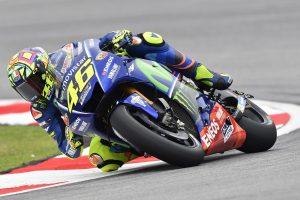 MotoGP Sepang FP3: Rossi vola nel terzo turno, Dovizioso 4°, attardato Marquez