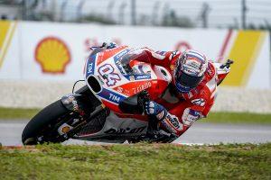 MotoGP Sepang Warm Up: Dovizioso subito veloce, Marquez ottavo