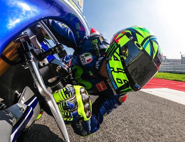MotoGP: Valentino Rossi ancora in pista a Misano
