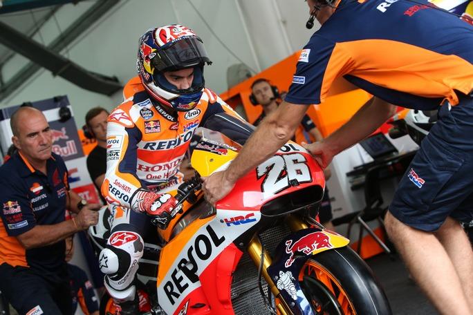 "MotoGP Sepang Day 1: Pedrosa, ""Difficile capire cosa succede"""