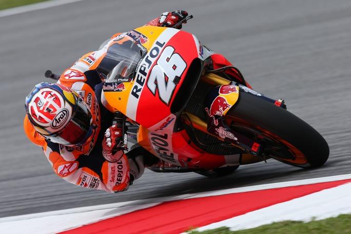 MotoGP Sepang Qualifiche: Pedrosa in pole, Dovizioso terzo, Rossi quarto