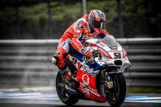 """MotoGP Motegi Day 1: Petrucci, """"E' stato un turno abbastanza positivo"""""""