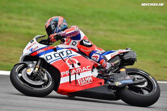 "MotoGP Sepang QP: Petrucci, ""Spero nella pioggia"""