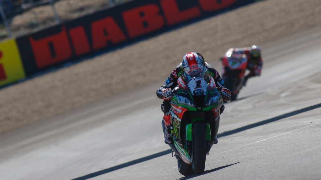 SBK  Pirelli Spanish Round, Gara2: doppietta per Rea e titolo per Kawasaki