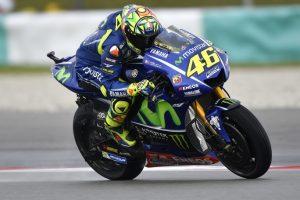 """MotoGP Sepang Day 1: Rossi, """"Buon passo sull'asciutto, dobbiamo migliorare sul bagnato"""""""