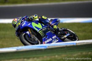 """MotoGP Phillip Island Qualifiche: Rossi, """"Non siamo abbastanza veloci"""""""