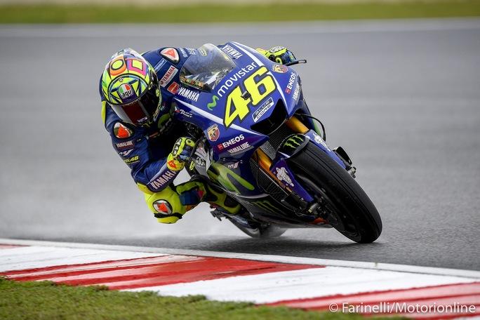 """MotoGP Sepang Gara: Rossi, """" E' stata una gara dura, ci manca sempre grip al posteriore"""""""