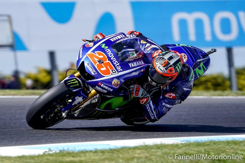 """MotoGP Phillip Island Gara: Vinales, """"Deluso per il campionato ma soddisfatto della gara"""""""