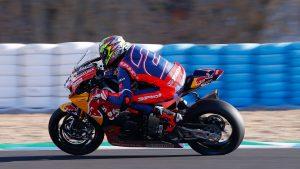 SBK  Winter Test Jerez: prime impressioni di Camier sulla CBR Honda