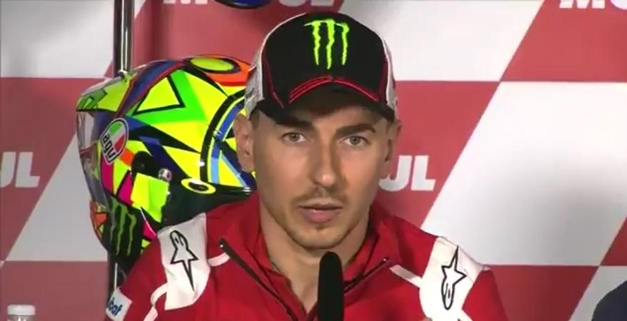 """MotoGP Valencia Conferenza Stampa: Lorenzo, """"Se sarà necessario aiuterò Dovi, ma sarà difficile"""""""