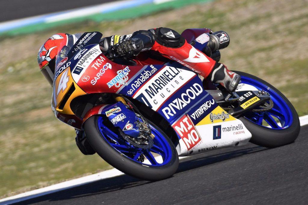 """Test Jerez Moto3: Arbolino, """"Felice e soddisfatto"""""""