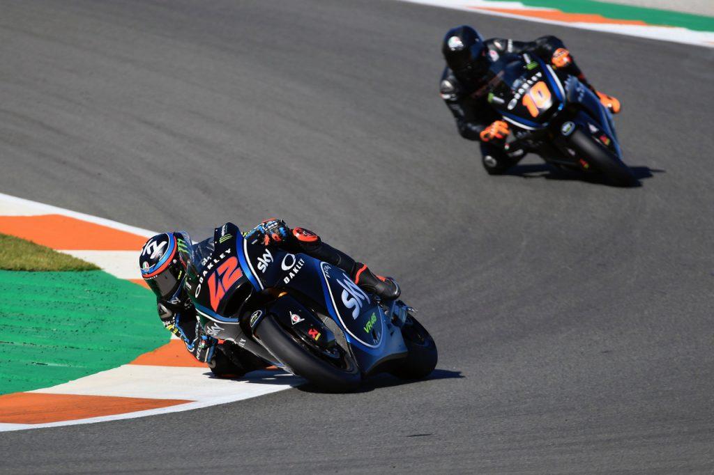 """Test Moto2 Valencia Day2: Bagnaia, """"Sono riuscito a migliorare in ogni sessione"""""""