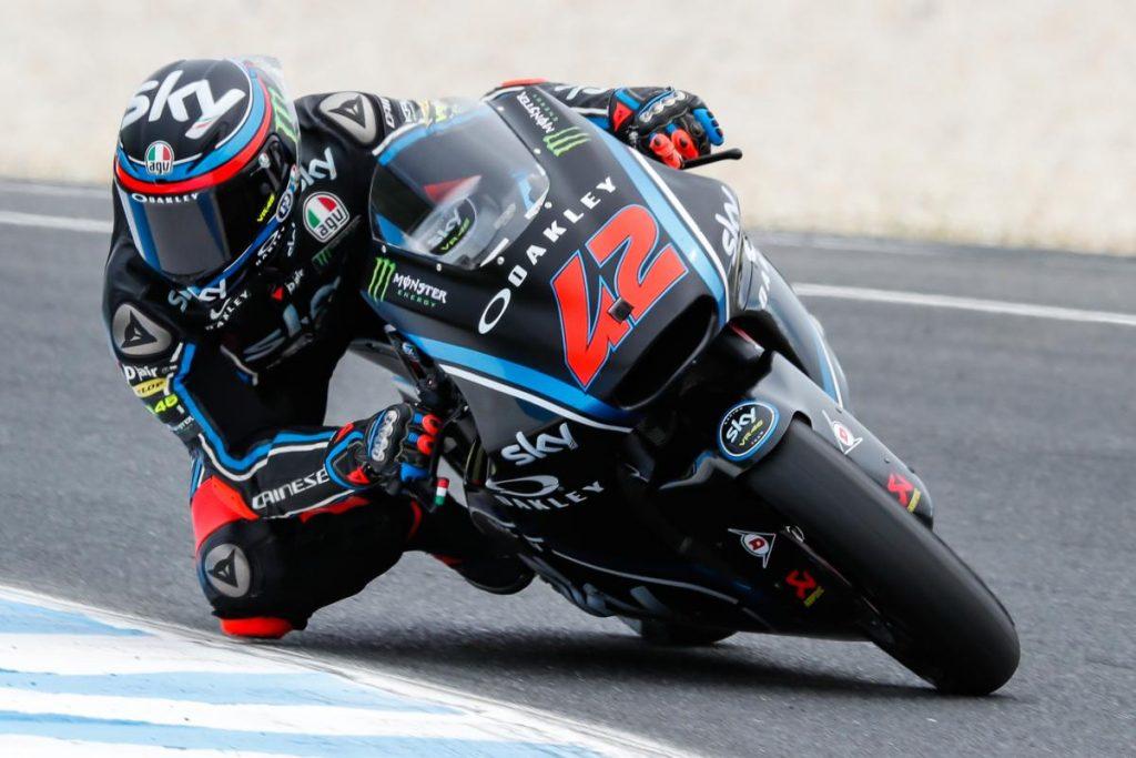 """Moto2 Valencia Preview: Bagnaia, """"Ho fatto un gran lavoro con il team"""""""