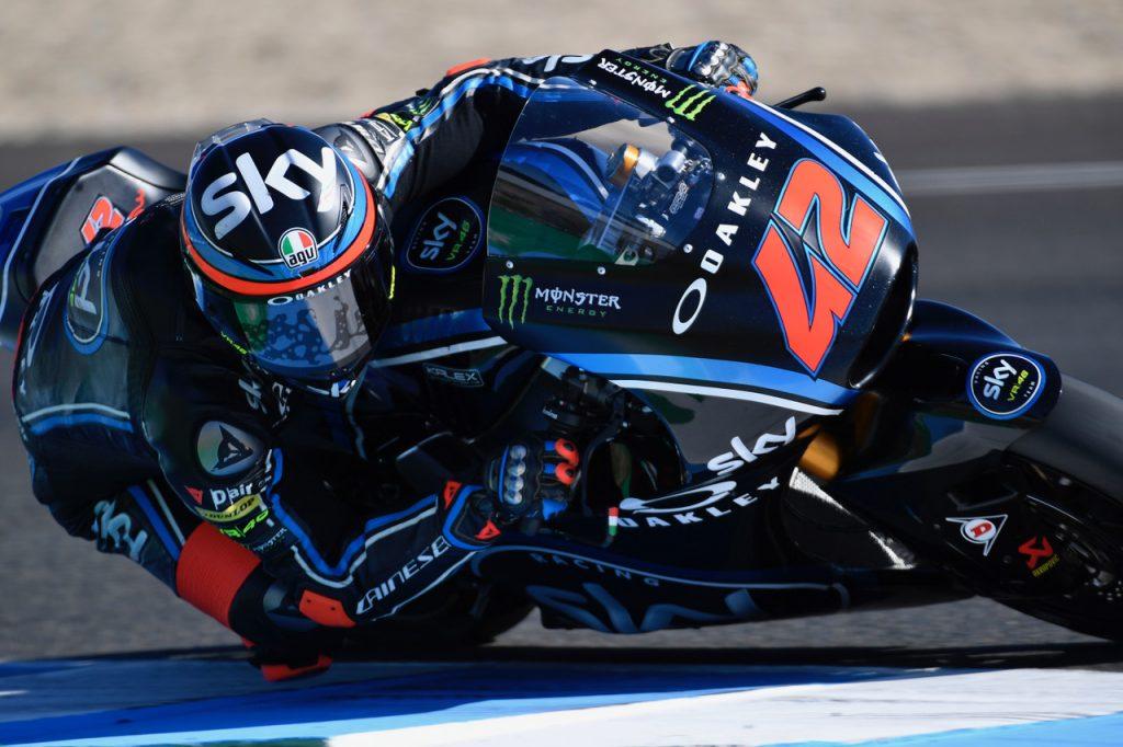 Test Jerez Moto2 – Moto3 Day 1: Bagnaia il più veloce, quarto Marini