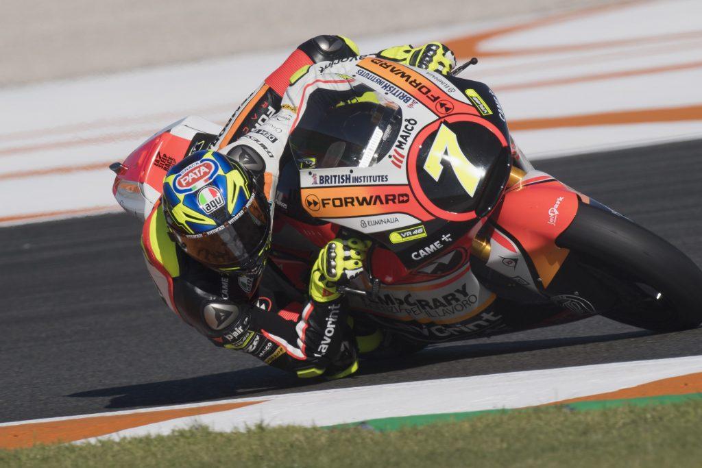 """Moto2 Valencia Day 1: Baldassarri, """"Abbiamo faticato molto"""""""