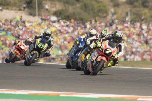 """Moto2 Valencia Gara: Baldassarri, """"Con questo risultato posso lasciare il Forward Racing Team con il sorriso"""""""