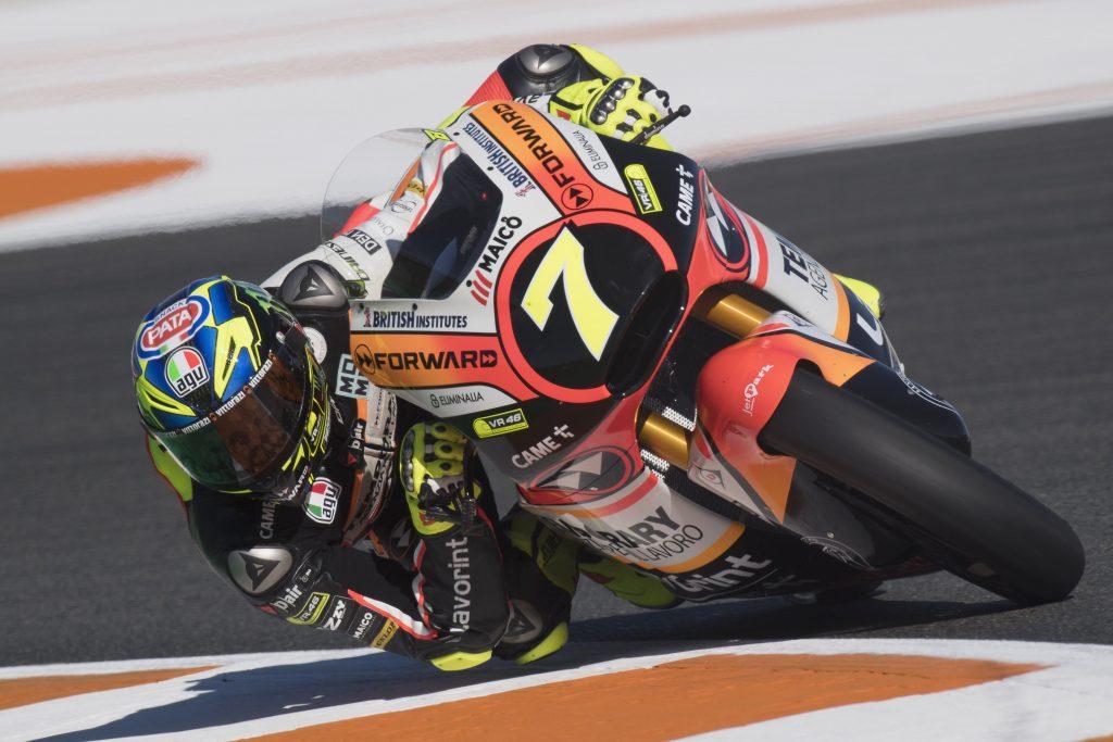 """Moto2 Valencia Qualifiche: Baldassarri, """"Non è stato per niente facile"""""""