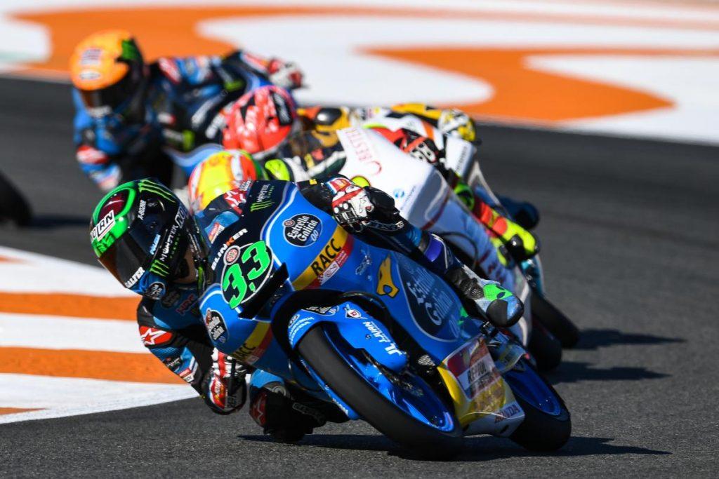 """Moto3 Valencia Gara: Bastianini, """"Dedico alla squadra i miei tre podi"""""""