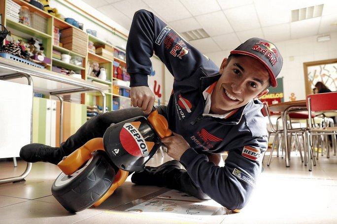 """MotoGP Valencia: I dati del """"Big Save"""" di Marc Marquez"""