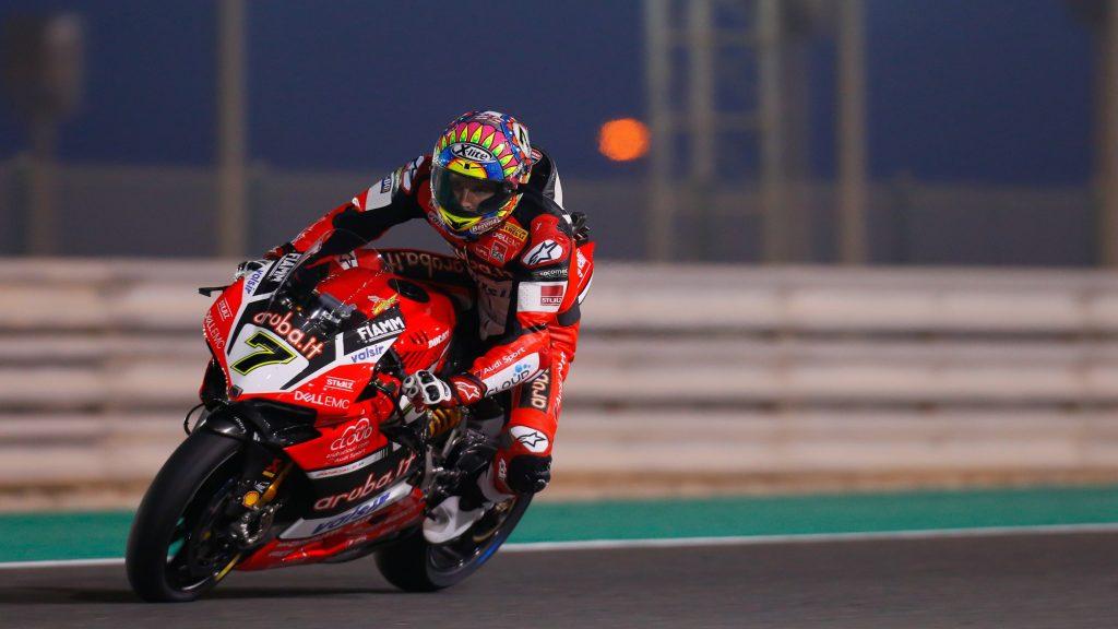 SBK| Acerbis Qatar Round, FP: Davies soddisfatto del quarto tempo