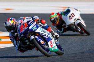 """Moto3 Valencia Day 1: Di Giannantonio, """"Il migliore venerdì della stagione"""""""