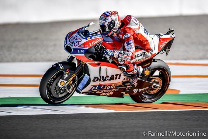 """MotoGP Test Valencia Day 2: Dovizioso, """"Abbiamo portato a termine tutto il programma"""""""