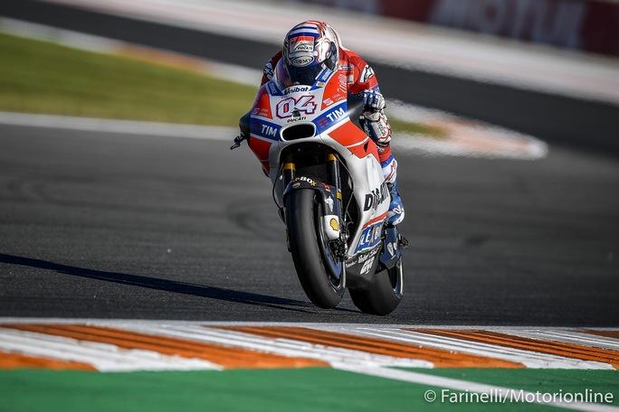 """MotoGP Valencia Qualifiche: Dovizioso, """"Dobbiamo puntare al podio e pensare positivo"""""""