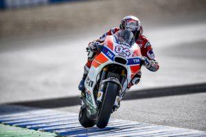 MotoGP Test Jerez: Ducati soddisfatta del lavoro svolto con Dovizioso e Lorenzo