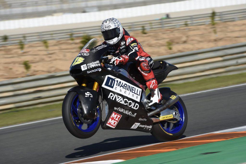 """Test Moto2 Valencia Day 2: Fenati, """"Andiamo a casa con il sorriso"""""""