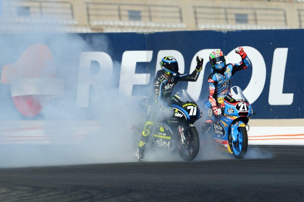 CEV Moto3 Gara 2 Valencia: vittoria di Dennis Foggia