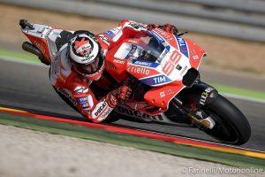 """MotoGP Valencia Day 1: Lorenzo, """"Dobbiamo essere soddisfatti, oggi pomeriggio siamo andati molto bene"""""""