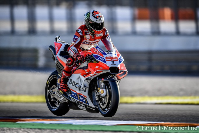 """MotoGP Test Valencia Day 2: Lorenzo, """"Oggi ho capito l'ultimo step che mi mancava per andare forte con la Ducati"""""""