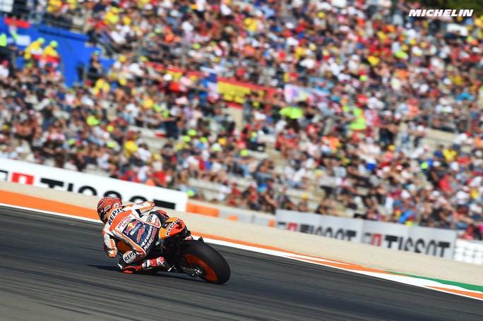 MotoGP Valencia Warm Up: Marquez il più rapido, Dovizioso è quarto